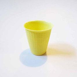Espresso Cup gepunktet - Maria Raab gelb