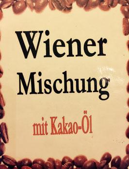 Wiener Mischnung mit Kakaobohnen