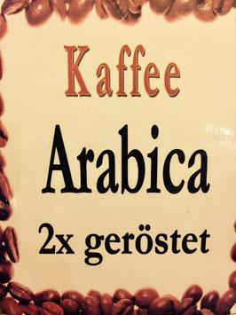 Arabica Doppelte Röstung