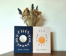 cartes postales les 2 salutations