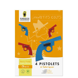 Kit Mes pistolet -Pirouette Cacahouette