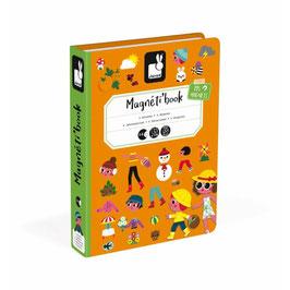 Janod - Magnéti'book, les 4 saisons