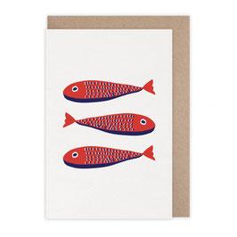 Monsieur Papier - Carte Sardines