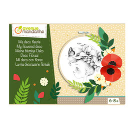 -50% // Boite créative, ma déco florale- Avenue Mandarine