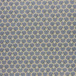 Coton enduit Riad gris ardoise