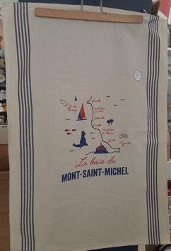 Torchon La baie du Mont Saint Michel