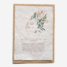 Growing paper - Carte à planter, Redevenir sorcière