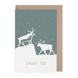 Monsieur Papier - Carte Joyeuses fêtes Svalbard