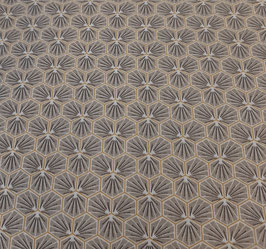 Coton enduit Riad taupe