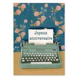 """Mélanie Voituriez - Carte """" anniversaire royal """""""