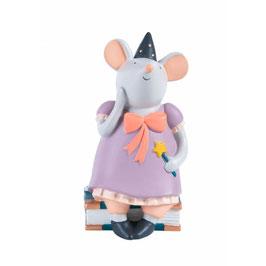 Moulin Roty - Tirelire souris rose, il était une fois