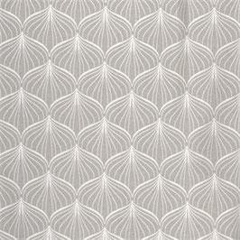 Coton enduit Alli grey brillant