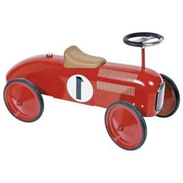 Porteur métal vintage rouge- Goki