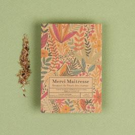 La fabrique à sachets- sachet de graines bio, Merci maîtresse - fleurs des champs