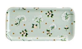 Plateau fleurs blanches - Mélanie Voiturez