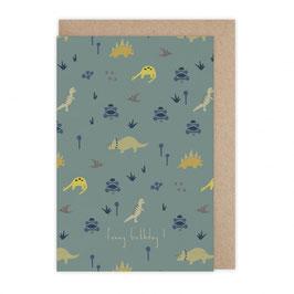 Monsieur Papier - Carte funny birthday dino