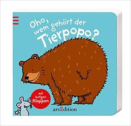 """Pappbilderbuch """"Oho, wem gehört der Tierpopo"""""""