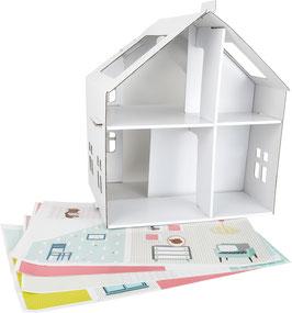Papp-Puppenhaus