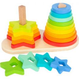 Steckspiel Regenbogen