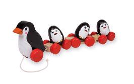 Pinguinfamilie zum Nachziehen