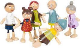 Puppenfamilie aus Holz - bald verfügbar