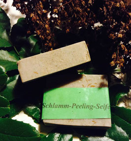 Schlamm-Peeling Seife