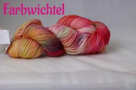 Sockenwolle Handgefärbt