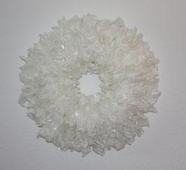 Clairisse froissé blanche