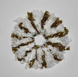 Clairisse froissé blanche-d'or