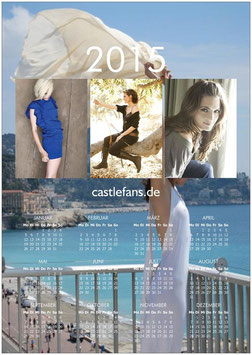 Stana Katic Wandposter-Kalender 2015