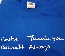 "T-Shirt ""Thank you. Always"""
