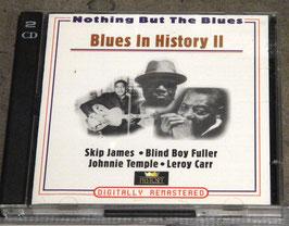 Blues in History II - Skip James, Blind Boy Fuller, Leroy Carr (2 CDs)