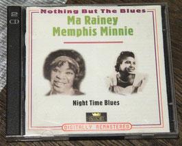 Ma Rainey / Memphis Minnie - Night Time Blues (2 CDs)