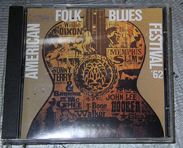 AMERICAN FOLK BLUES FESTIVAL '62