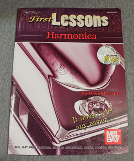 David Barrett - First Lesson  Harmonica