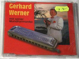 Gerhard Werner - mit seiner Mundharmonika