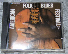 AMERICAN FOLK BLUES FESTIVAL '81