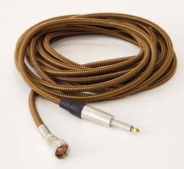 TAD Blues-Harp Micro-Kabel, Amphenol (CO250IF) / Klinke, 6 m, Vintage Tweed