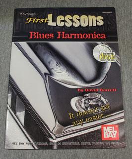 David Barrett - First Lesson Blues Harmonica - OHNE CD