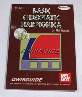 Phil Duncan - Basic Chromatic Harmonica Book