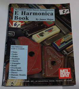 James Major - Mel Bay's E Harmonica-Book
