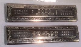 Deckelsatz HOHNER Echo Harp 2 x 60