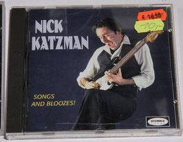 Nick Katzman - Songs and Bloozes