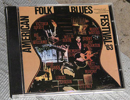 AMERICAN FOLK BLUES FESTIVAL '63