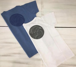 WAVE camiseta. Dos colores
