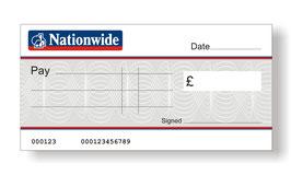 Nationwide Jumbo Cheque
