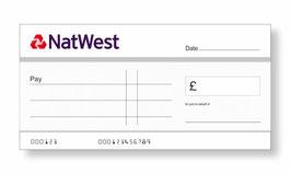 Natwest Jumbo Cheque