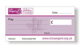 Clic Sargent Jumbo Cheque