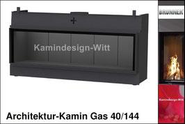 Gas-Kamin Architektur-Kamin Gas 40x144