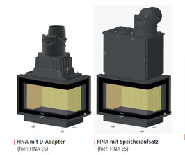 Speicheraufsatz für FINA F/DS/ES